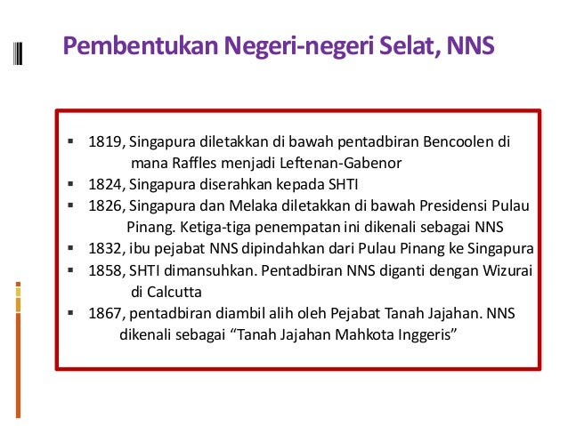 Negeri Negeri Selat Di Tanah Melayu