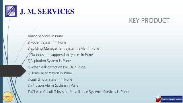 J M Services - Secuirity Solution Slide 3