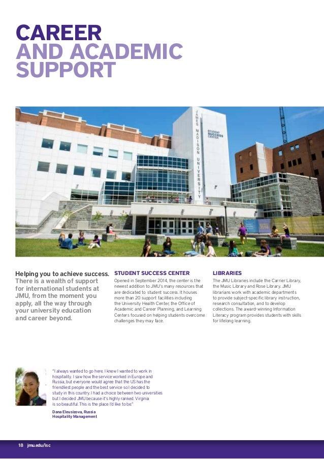 James Madison University isc brochure 2016 2017