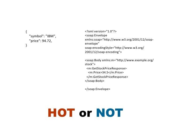 "{                                      <?xml version=""1.0""?>     ""symbol"": ""IBM"",    <soap:Envelope  ..."