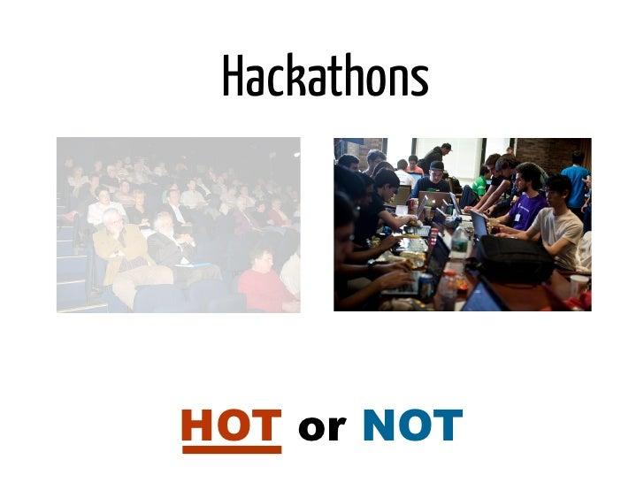 HackathonsHOT or NOT