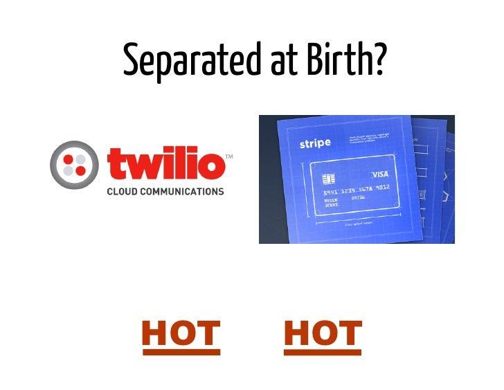 Separated at Birth? HOT or HOT