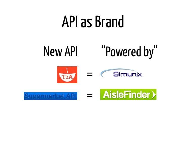"""API as BrandNew API       """"Powered by""""          =          ="""