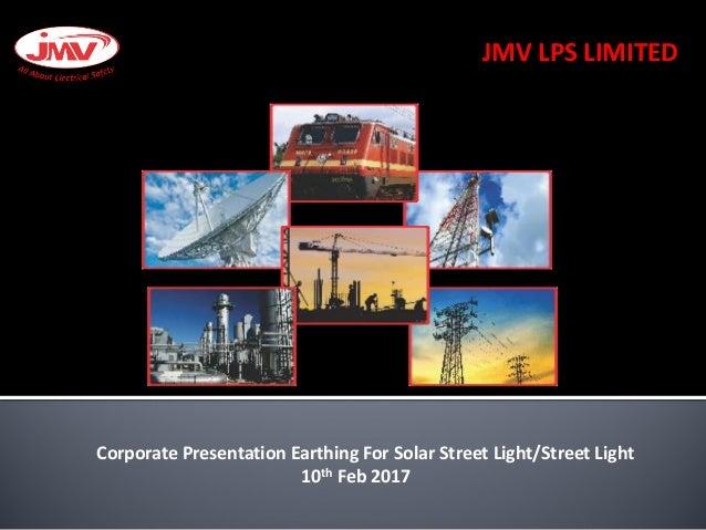 Jmv corporate creada 2017 street light led