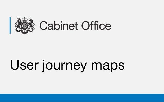User journey maps
