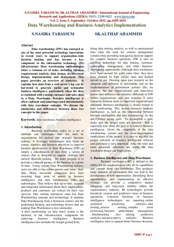 S.NASIRA TABASSUM, SK.ALTHAF AHAMMED / International Journal of Engineering           Research and Applications (IJERA) IS...
