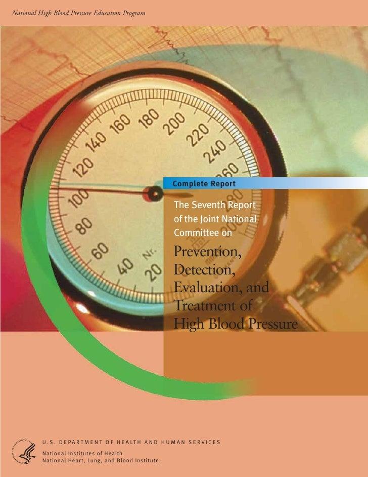 National High Blood Pressure Education Program                                                                Complete Rep...