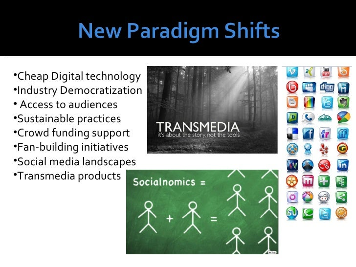 •Cheap Digital technology•Industry Democratization• Access to audiences•Sustainable practices•Crowd funding support•Fan-bu...