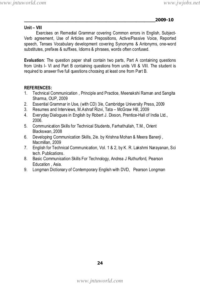Jntu a (r09) 3,4 years (i,ii sem) syllabus [sres11jemeches.blogspot.…
