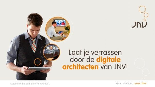 JNV Presentatie | zomer 2014
