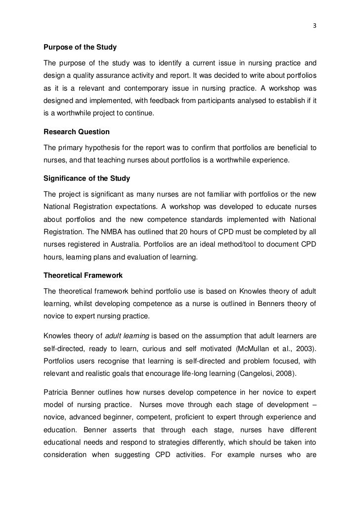 thesis portfolio