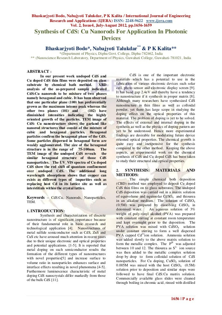 Bhaskarjyoti Bodo, Nabajyoti Talukdar, P K Kalita / International Journal of Engineering            Research and Applicati...