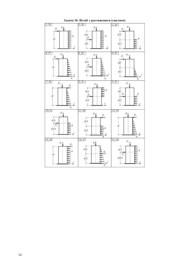 Решения задач из сборника качурина решение задач по сопромату и