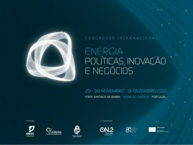 Energia eOportunidades de Negócio           Francisco Rodrigues Laranjeira           Managing Director, ENERCON Portugal