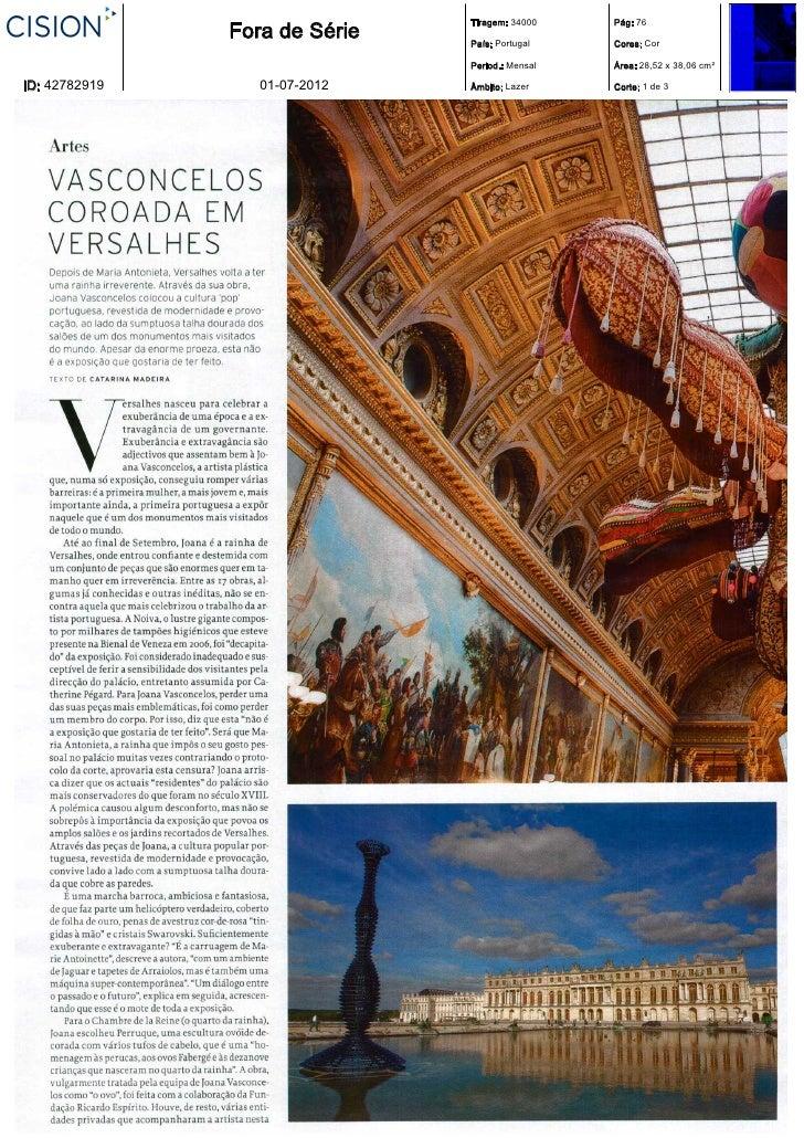 Tiragem: 34000    Pág: 76               Fora de Série   País: Portugal    Cores: Cor                               Period....