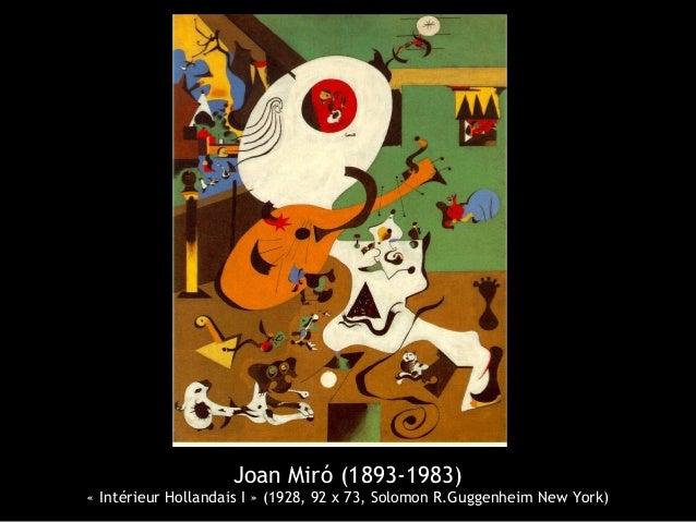 Joan mir 1893 1983 for Joan miro interieur hollandais