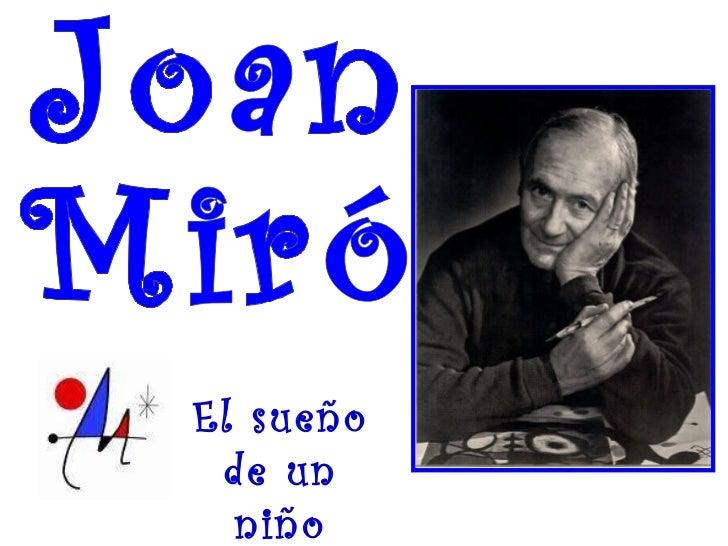 Joan Miró Su Vida