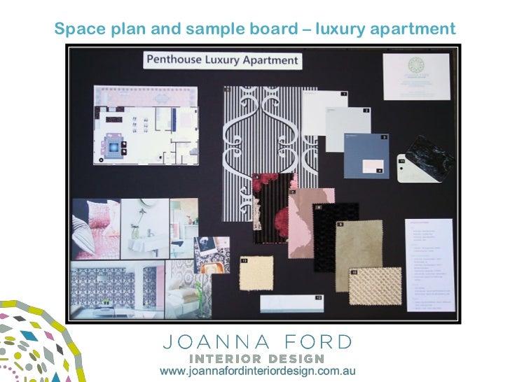Joanna ford interior design portfolio What is a sample board in interior design