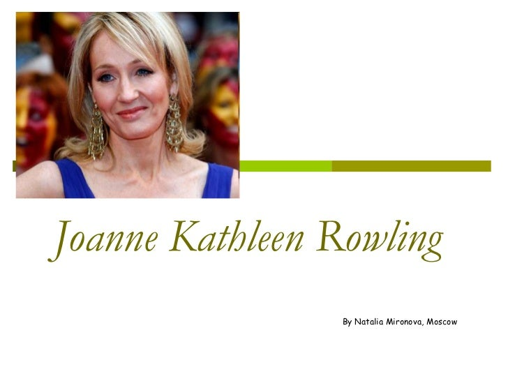 "an introduction to the life of joanne kathleen rowling Joanne mattern stated that, ""jk rowling did not expect her books to become such a huge success"" (mattern, 3) in every juncture of her private life, she carried her imaginative power with her she faced so many hardships in her life, but it did not weaken her willpower."