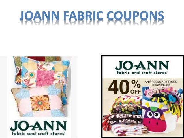 Joann fabriccoupons Slide 3