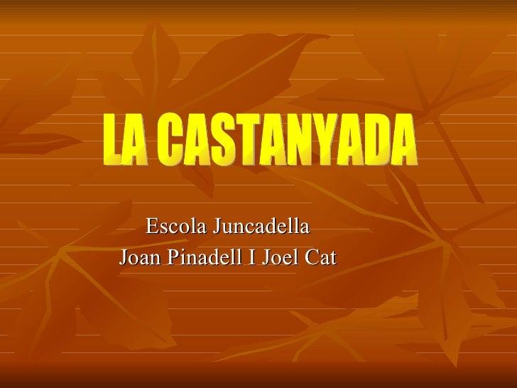 Escola Juncadella Joan Pinadell I Joel Cat LA CASTANYADA