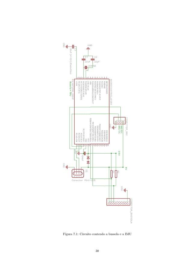 Figura 7.1: Circuito contendo a bussola e a IMU 30