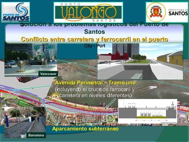 Occupaciones en tierra Área del almacéns 7 y 8  TermCont  Genova  • Instituto de Ciencias del Mar USP e UNIFESP Estación d...