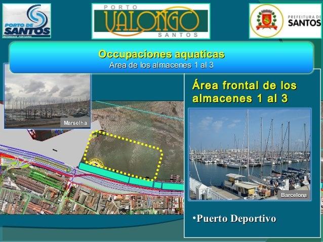 Occupaciones aquaticas y en tierra Entre almacéns 3 y 4 - 8 y 9  Área de los almacenes 3 y 4 • Servicios de Información y ...