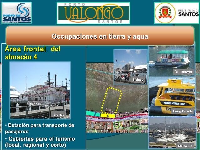 Planificacion del ocupacion Oceanographic Institute USP  Nuevo Cruise Terminal  Restaurantes Shops Oficinas Artes  Puerto ...