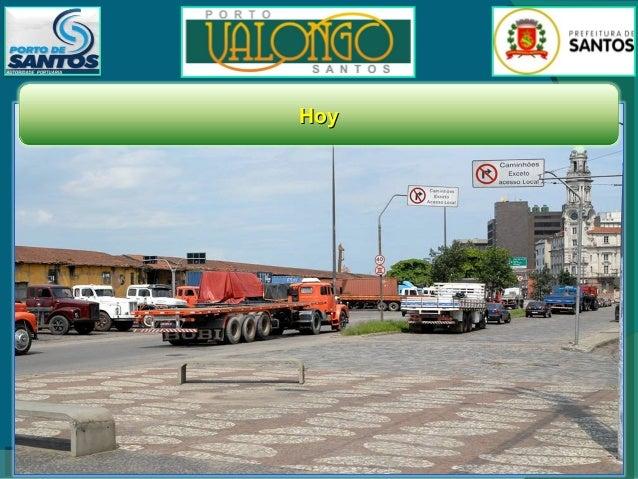 Propuesta del Ayuntamiento de Santos para el plan general de ocupación del área a ser revitalizada  Así, la Ciudad de Sant...