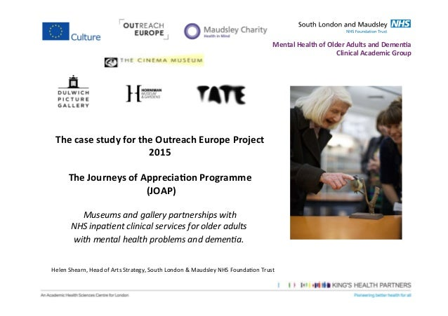 Joap the case study for outreach europe project 2015
