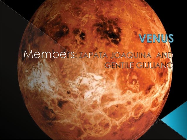 """ VENUS, the second planet from the sun, is often referred to as one of the """" inner planets"""".  It's one of the first FOUR..."""