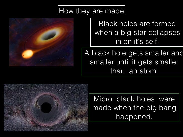 black holes are formed by - photo #25