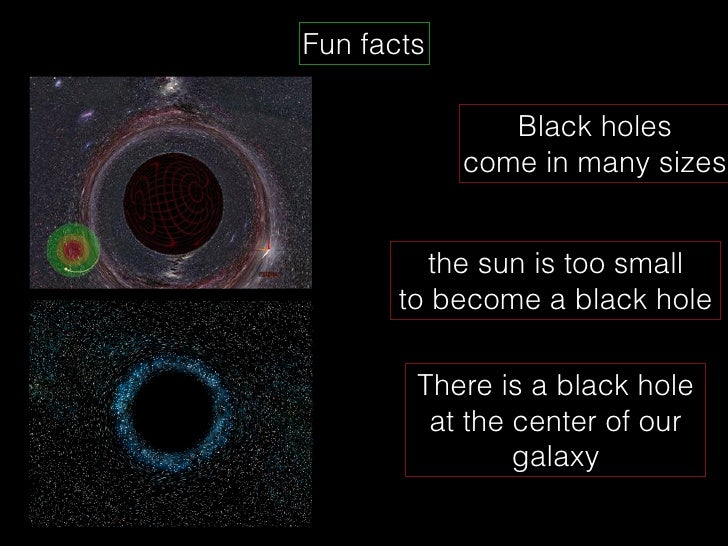 black holes fun facts - photo #28