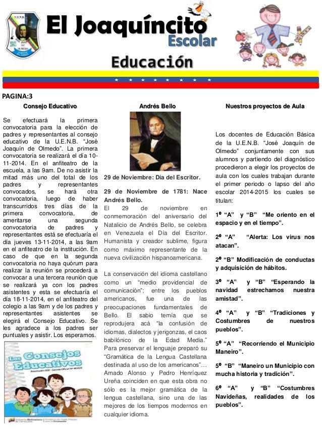 Joaquincito escolar for Como elaborar un periodico mural escolar
