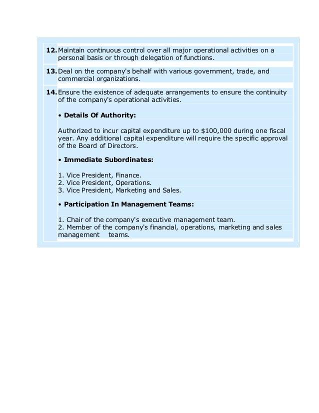 vice president of sales and marketing job description