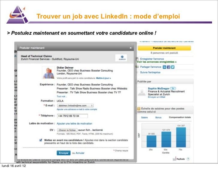 job 2 0 recherche emploi linkedin 2012