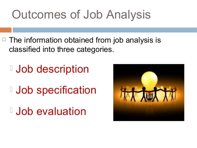 Job AnalysisPpt