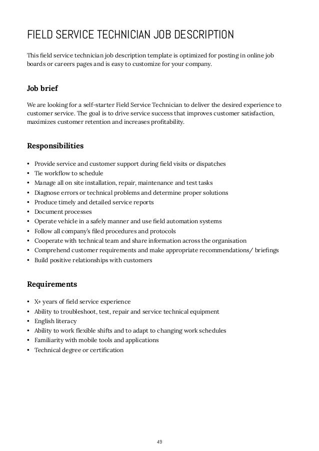 lead customer service representative job description