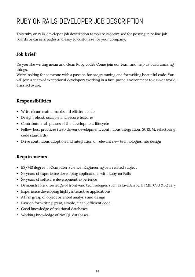 Marvelous Lovely Computer Programmer Job Descriptions. How To Write Job Descriptions