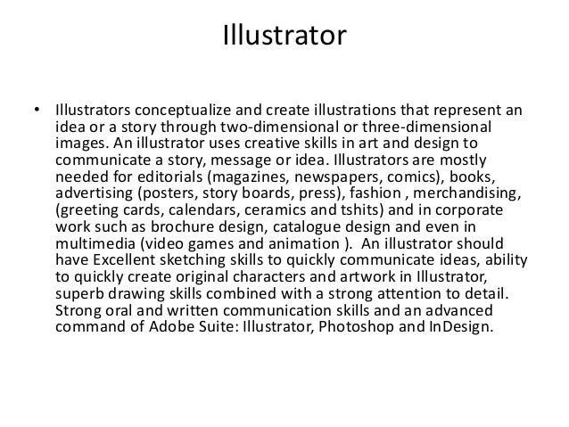 Job Descriptions of a Graphic Designer
