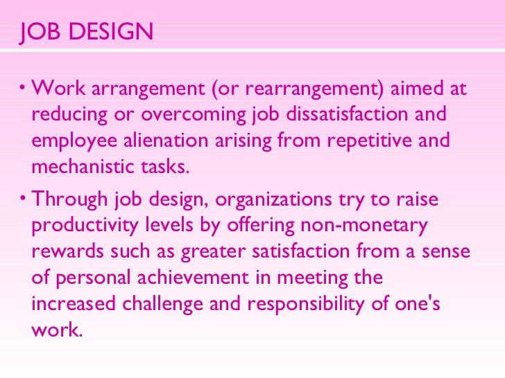 """job design goal setting and flexible Instead, set an """"explorer"""" mindset: set goals and trust in achieving those goals this is the key element in flexible planning: forget about hierarchies of plans instead, organize flexible reactions at the goal-setting level."""