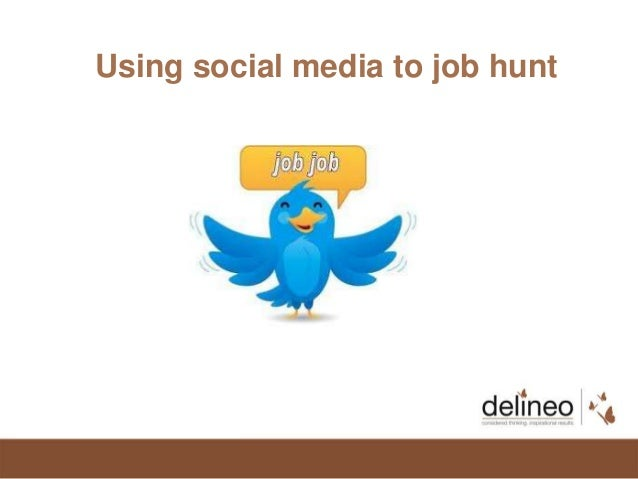 Using social media to job hunt