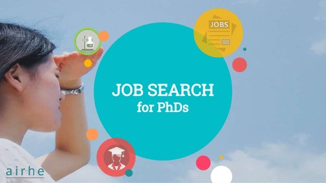JOB SEARCH for PhDs
