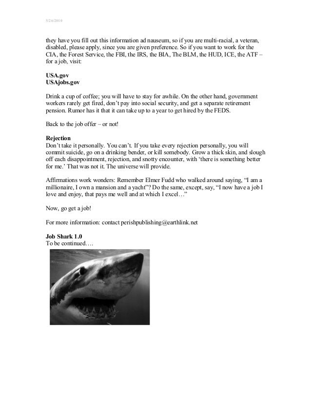 job shark quick start guide for the unemployed