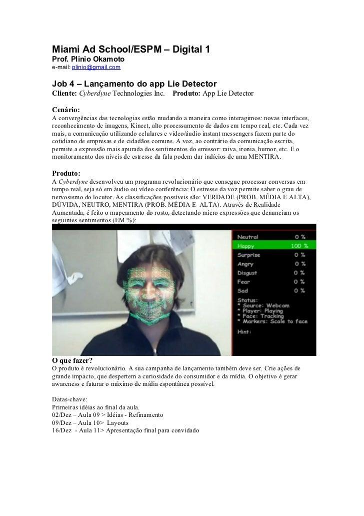 Job4 Lie Detector