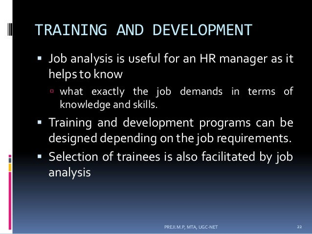 job analysis hr manager Job analysis: after management review, uic hr compensation performs job analysis on the all piq's submitted and meets as a group to ensure classifications are used consistently d: initial result meeting w/leadership: when the analysis is complete, uic hr compensation meets with unit leadership to collaboratively discuss the results and hear any appeals e: management meeting: following uic hr.
