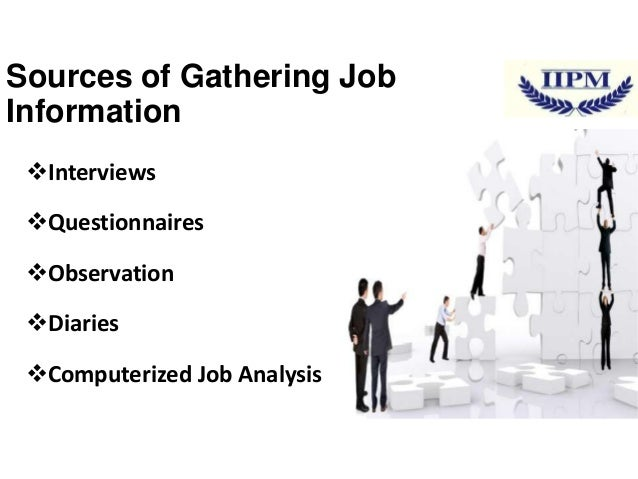 hrm job analysis and techniques The six points mentioned above inform us the advantages of job analysis and probably you are wondering,  hrm (2) management tips (2) methods (3.