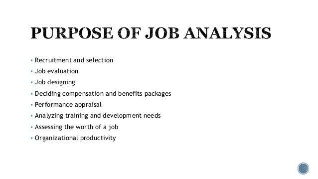 Job analysis Slide 3