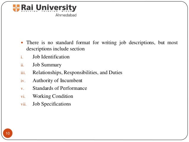 Job Analysis  Principles Of Human Resource Management